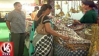 Golkonda Handicrafts & Textiles Exhibition Begins In Hyderabad City   V6 News