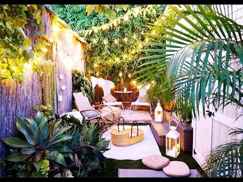Awesome Ideas to Maximize Your Small Space Outdoor