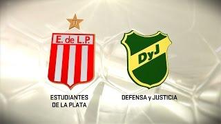 Estudiantes LP vs. Defensa y Justicia. Fecha 14. Torneo de Primera División 2016/2017. FPT