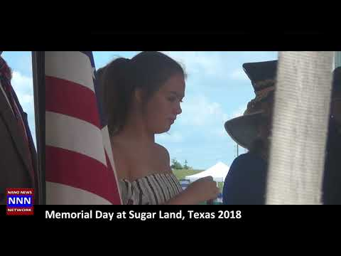 MEMORIAL DAY CEREMONY AT SUGAR LAND TX BY NIK NIKAM FOR NNN F