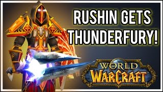 Classic Wow, Lightshope!! NAXX THUNDERFURY TANKING !!! WITH