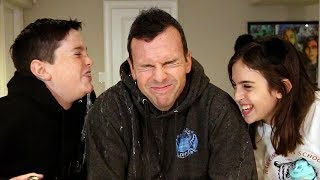 TRY NOT TO LAUGH CHALLENGE!! - MORE DAD JOKES