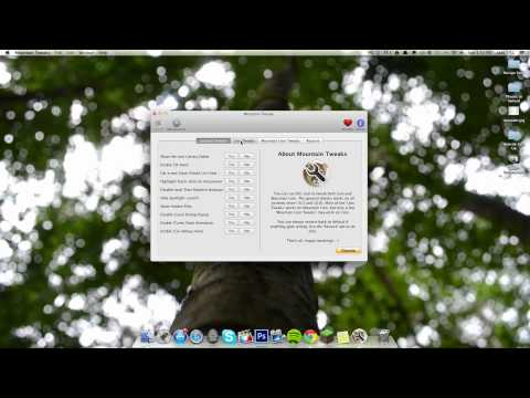 How To: Show the Library folder in Mac OS Mountain Lion (Mountain Tweaks)
