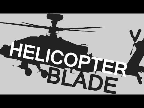 Helicopter Blade Construction