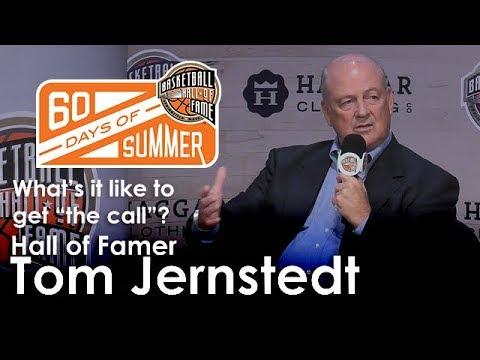 Tom Jernstedt talks about getting