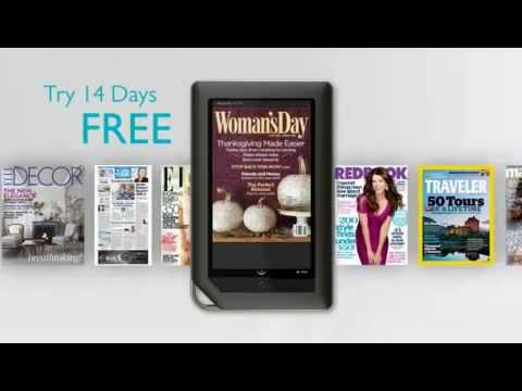 New Barnes Noble Nook Color eReader
