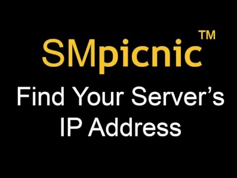 How to Find Your Minecraft Server's IP Address in SMpicnic