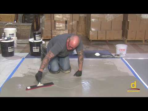 How to install Polished Concrete over Gypsum Sub-floor? Part 1/3