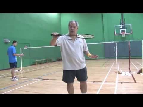 How To Do Net Cross Court Drops - Badminton Tips