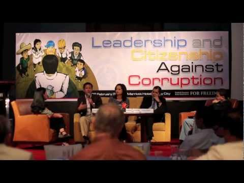 Leadership and Citizenship Against Corruption