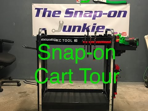 THE SNAP ON JUNKIE SNAP ON CART TOUR AND FAN MAIL