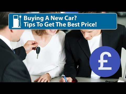 Getting The Best Price On A New Car