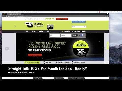 Straight Talk  10GB Per Month for $34 - Really?