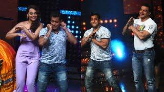 Nach Baliye 8 | Salman Khan dances with Sonakshi Sinha | Tubelight promotions | 7 June 2017