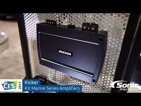 Kicker KX Marine Series Amplifiers   CES 2017