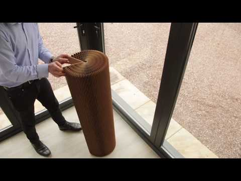 Foldable Paper Chair