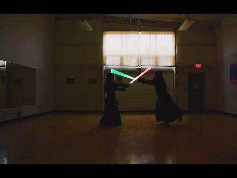 Hamilton Kendo Club - Lightsaber Keiko - December 19 2015