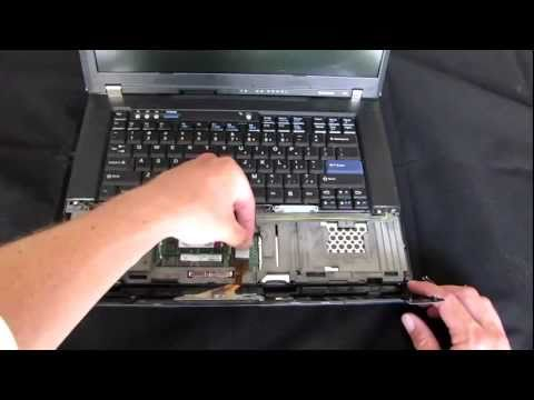 How to Remove, Clean, and Replace a Thinkpad T61 Keyboard - By Ed