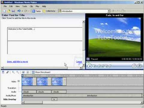 Windows Movie Maker 2 Tutorials - Home Business Marketing Videos
