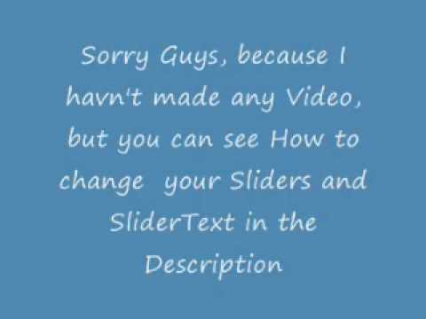 Customize crashes: How to change Slider and Slider Text with Winterboard