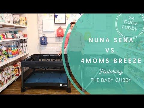 Nuna Sena Aire vs. 4moms Breeze Playard Comparison