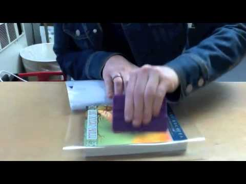 How to Cover a Book with Contact Paper