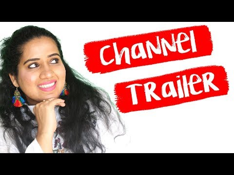 CHANNEL TRAILER I A COMPLETE PACKAGE I Happy Pink Studio
