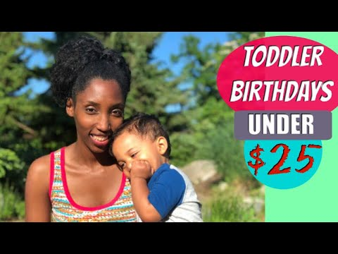 Top 5 Outdoor Birthday Party Ideas for Toddlers for LESS THAN $25