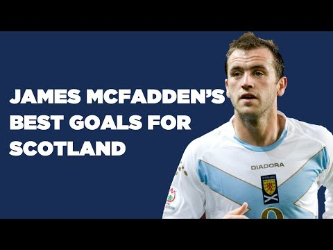 James McFadden's Scotland Goals