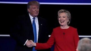 Trump vs Clinton: First presidential debate