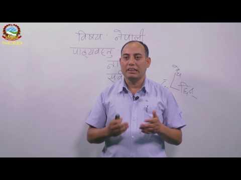 Nepali 2074 03 12 कार्यमूलक व्याकरण  - नाम , सर्वनाम , विशेषण , क्रियापद