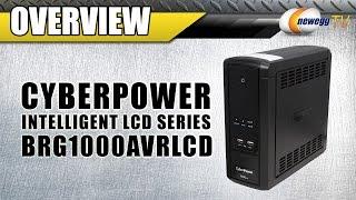 CyberPower BRG1000AVRLCD UPS Overview - Newegg TV