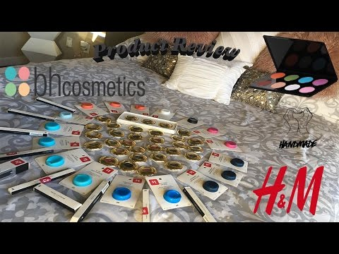 Product Review! Lush Cosmetics | Bh Cosmetics | H&M Cosmetics