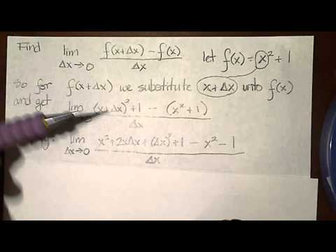 Limit of difference equation.