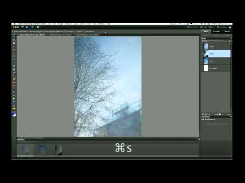 Creating a Multiple Exposure using Adobe Photoshop Elements 10