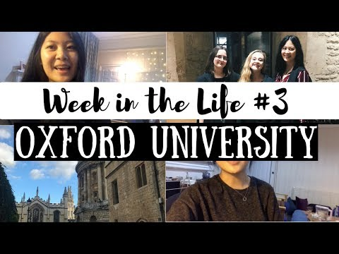 HARRY POTTER FORMAL & MY FAMILY VISITED | WEEK IN THE LIFE AT OXFORD UNIVERSITY | viola helen