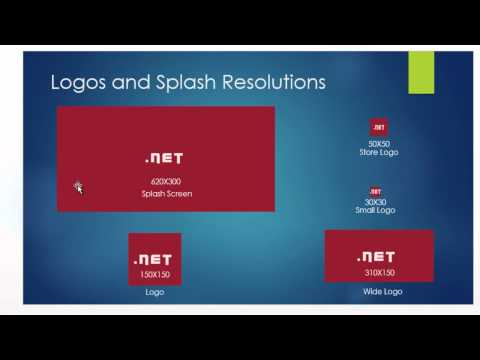 How to Add Splash Screen and Logos to Windows 8 Application