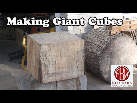 Stump to cube in 10 minutes.