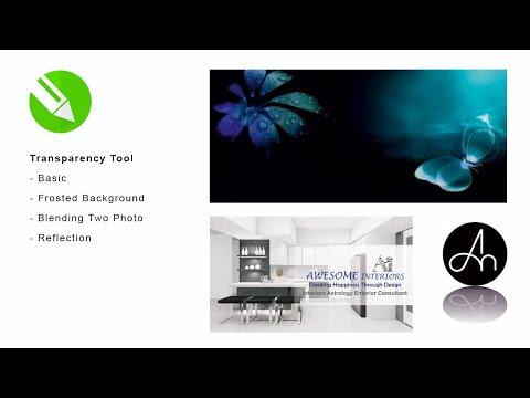 Transparency Tool in CorelDraw
