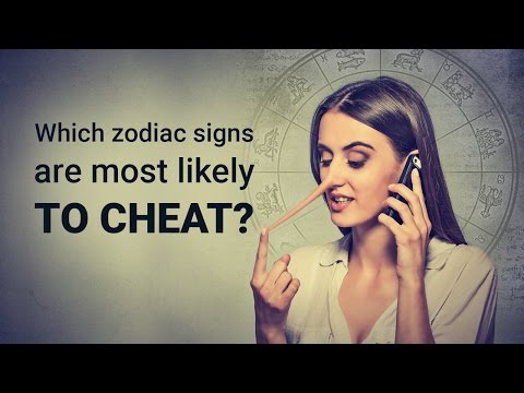 Which zodiac sign is most likely to cheat