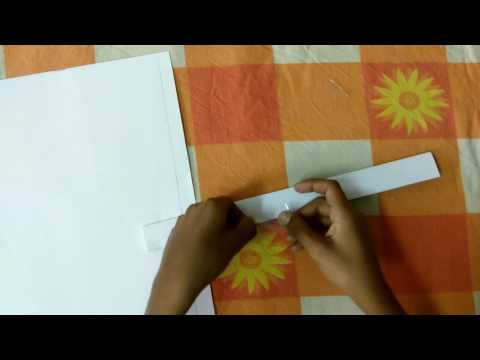 how to make paper sword