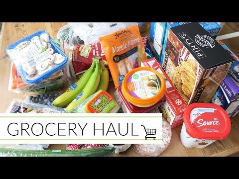 Grocery Haul   Snacks and Staples!
