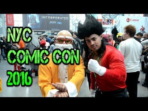 New York City Comic Con 2016 NYCC Vlog