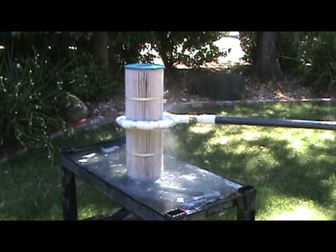 TORUS swimming pool and hot tub filter cartridge cleaner (general view)