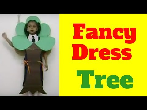 tree for fancy dress competition ideas for kids and children on nature theme environment