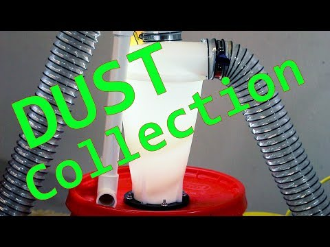Bucket Dust Collection for Vacuum // DIY How-To
