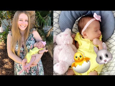 Baby's First Easter | Teen Mom Vlog
