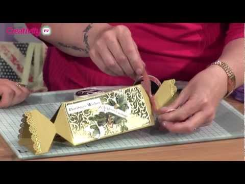 How To Make A Paper Christmas Cracker | docrafts Creativity TV