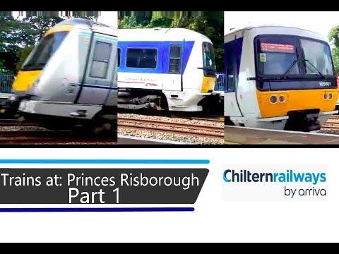 Trains at: Princes Risborough - CML - 17/8/18 - Part 1