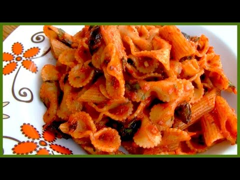 Easy One-Pot Pasta with Tomato Paste and Olives